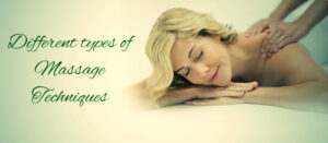 Different types of Massage Modalities!!