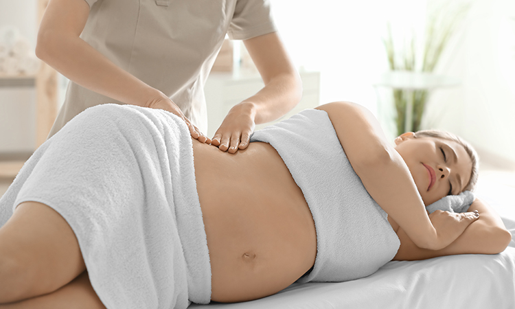 Benefits of prenatal massage prior and post pregnancy